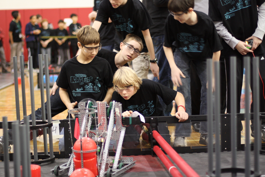 VEX Robotics Competition — and OPEF Open House — thrill crowds on January 28!