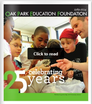 Wednesday Journal: OPEF celebrates 25 years with special section