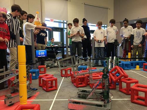 Informitics Challenge a huge success for OPEF VEX Robotics