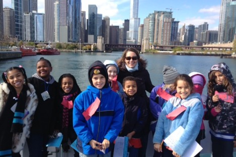 "<div style=""color:#FFFFFF;"">Students take field trips...</div>"