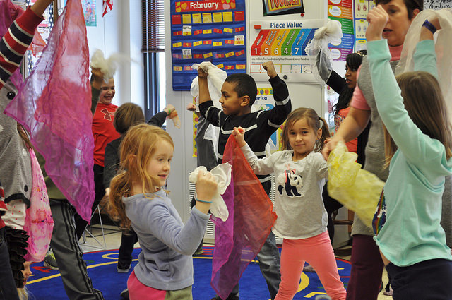 Irving 2nd graders tell stories through dance
