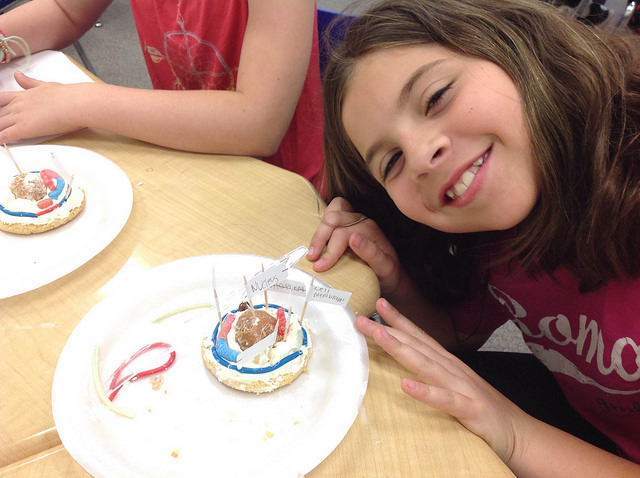 Mann 5th graders were hungry to learn about cells