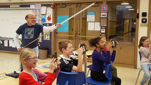 Potato launcher at Beye teaches scientific concepts – really!