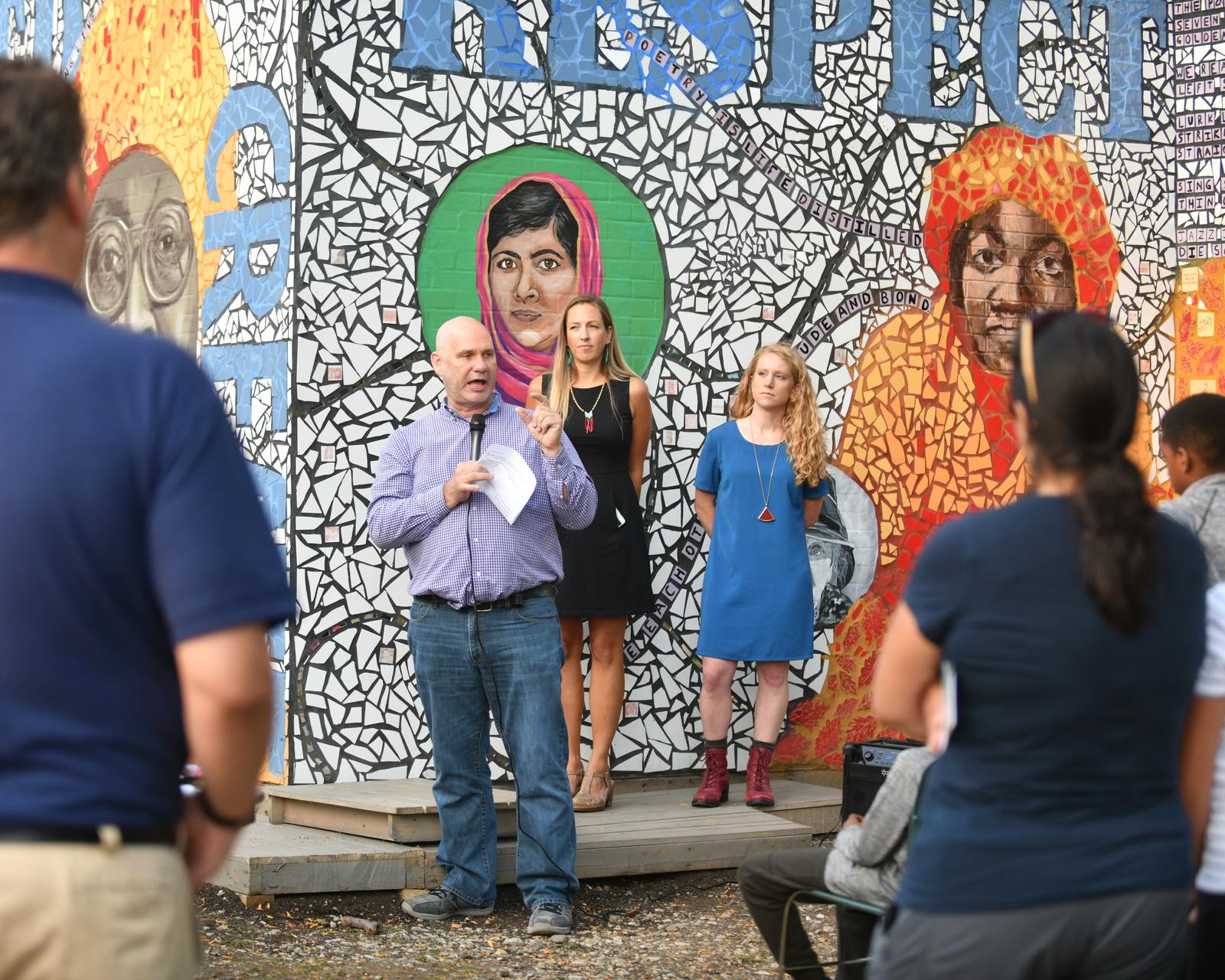 Gwendolyn Brooks Mosaic Unveiling