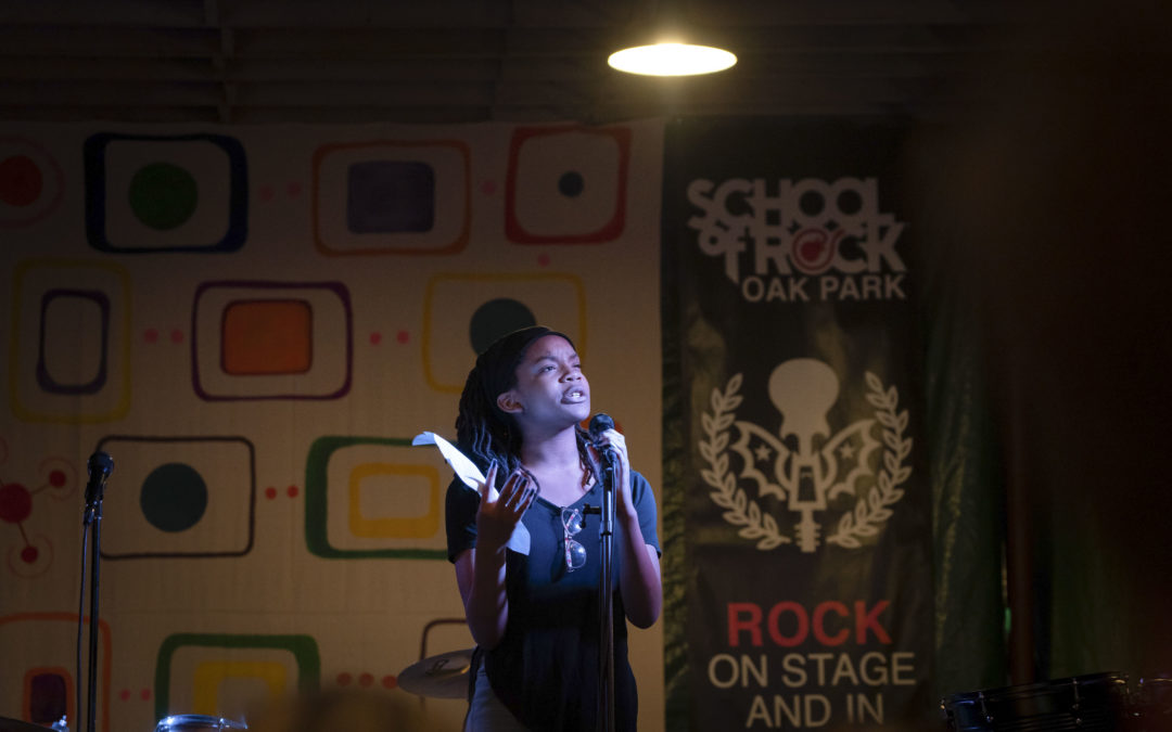 Voices Shake the House at School of Rock