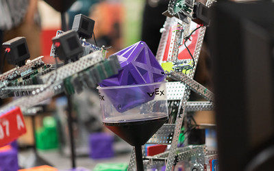 Lucky Llamas Take Top Honors at Battle of the Bots